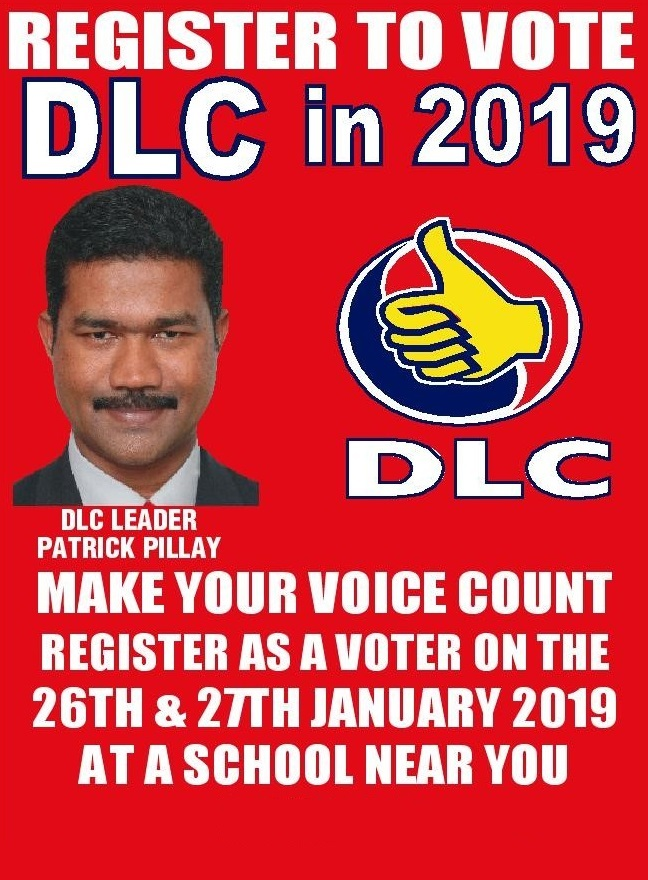 Voter Registration 2019 - National Elections